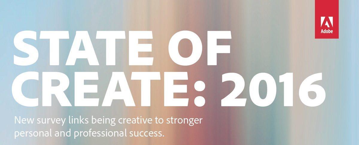Adobe creativity study 2016