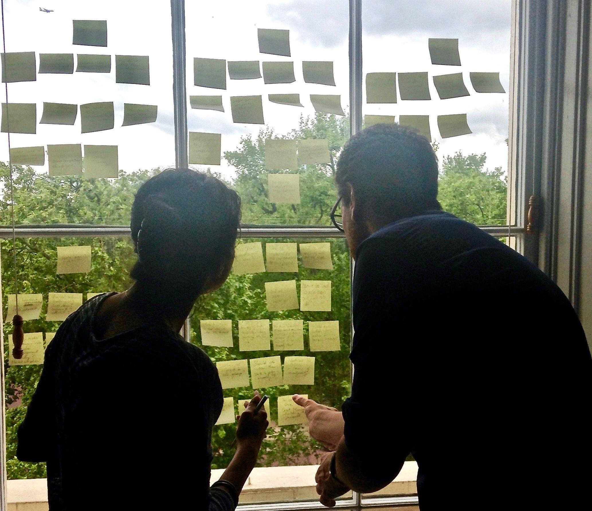 Design Thinking in London UK. Photo by Linda Naiman