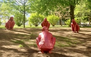 The Meeting by Wang Shugang (Part of the Vancouver Biennale collection)